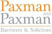 Paxman & Paxman logo