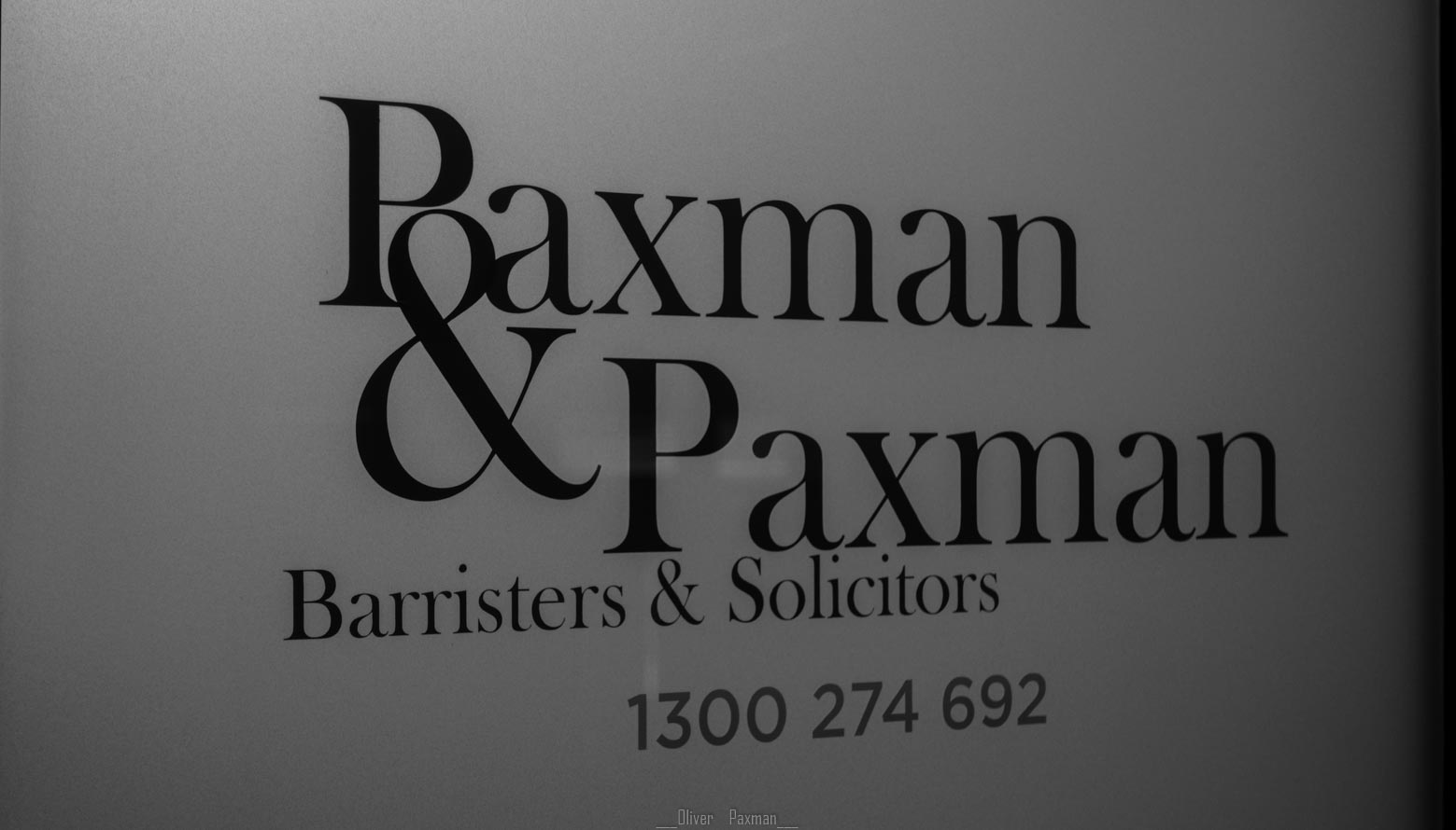 Paxman & Paxman criminal lawyers in Perth